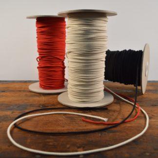 2 2mm Soft Cotton Eco Organic Elastic Cord James Tailoring
